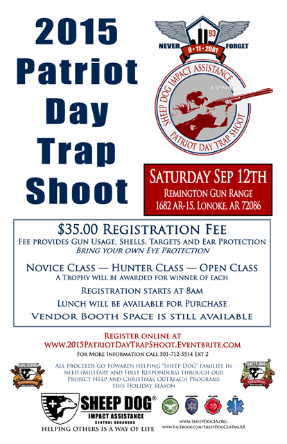 SDIA CAR 2015 PD Trap Shoot copy
