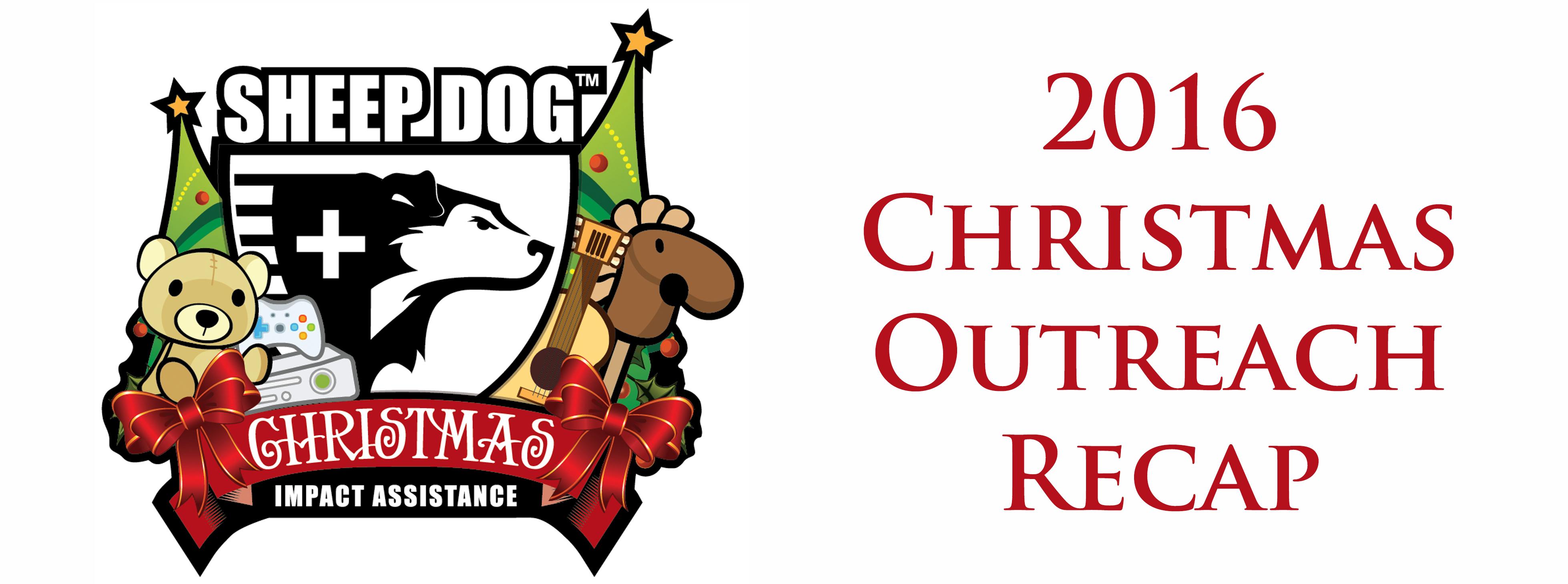 2016 Christmas Outreach Recap | Sheep Dog Impact Assistance