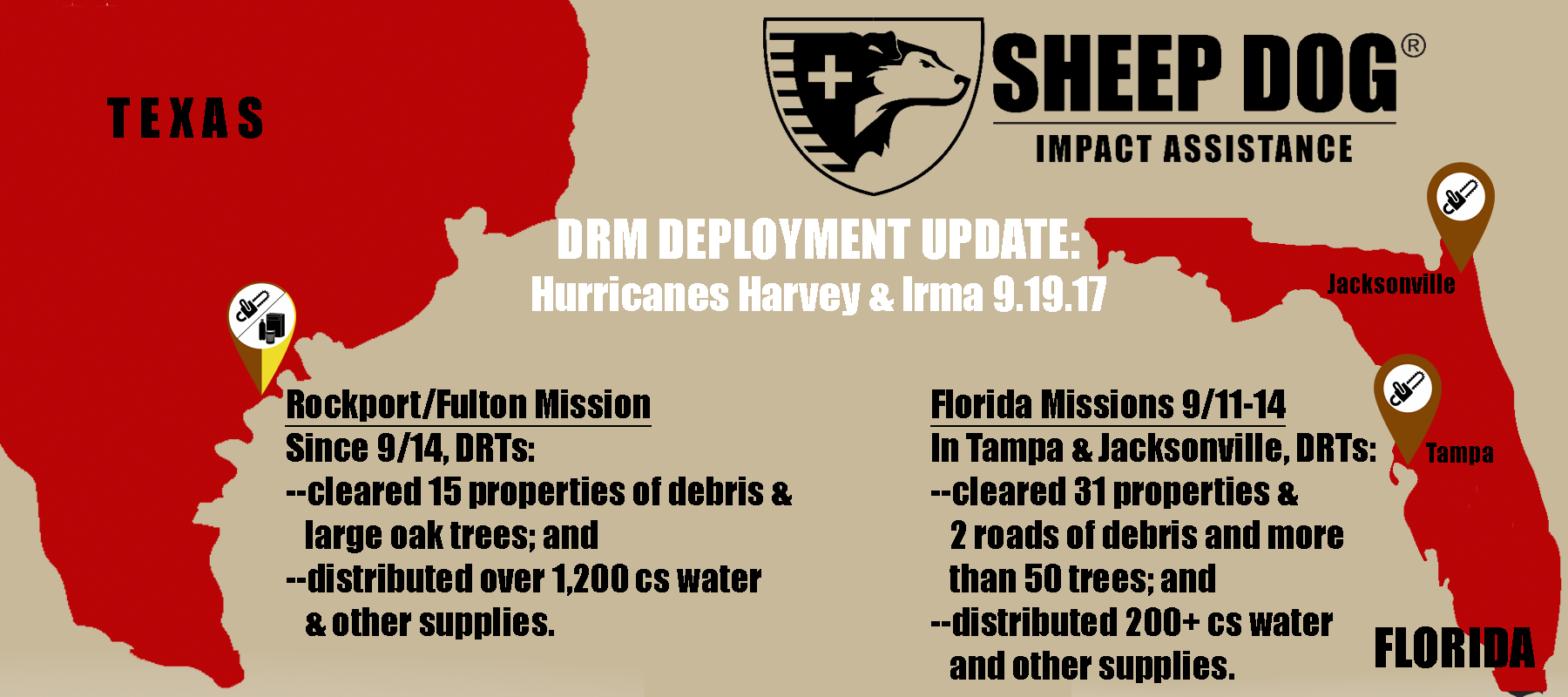 DRM Update: Hurricanes Harvey & Irma