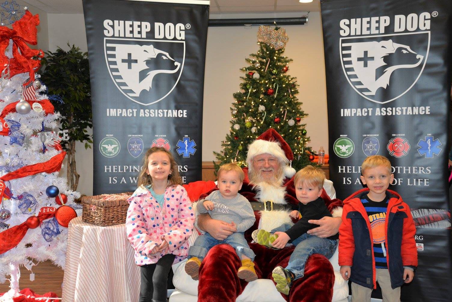 Christmas Outreach Makes Holiday Bright for Sheep Dog Families in Need