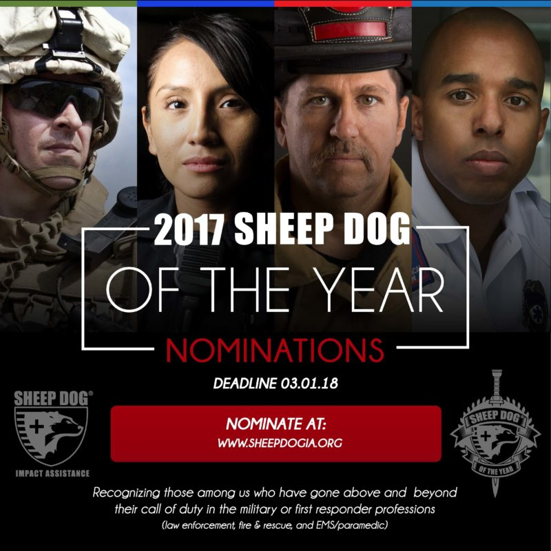 Nominate Your Sheep Dog of the Year TODAY!