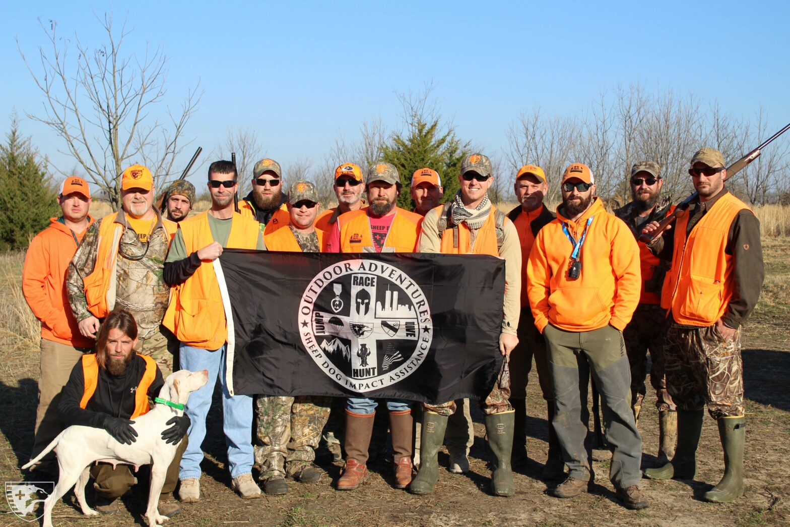 Hunting, Golfing & Skydiving Weekend Gives Veterans Much-Needed Camaraderie