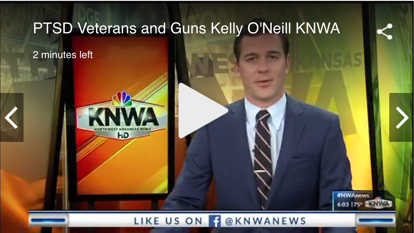 """In The News: """"Organization Uses Shooting to Help Veterans Find Purpose"""" – KNWA Interview"""